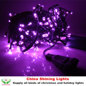 Good Quality Shining 10m 100LED Christmas String Lights Outdoor or Indoor Use Waterproof Rubber or PVC Wire All Colors Available pictures & photos