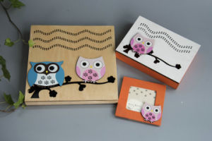 Natural Plywood Wall Decoration for Kids with Owl Design pictures & photos