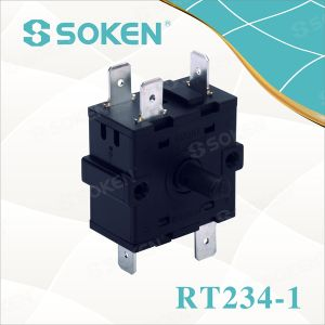 Nylon Rotary Switch with 4 Positions (RT234-1) pictures & photos
