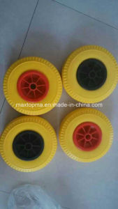 China Wheel Barrow Solid Flat Free PU Foam Wheel pictures & photos