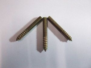 China High Quality Double Head Wood Screws, Dowel Screws, Hanger Bolts, 2016, New pictures & photos