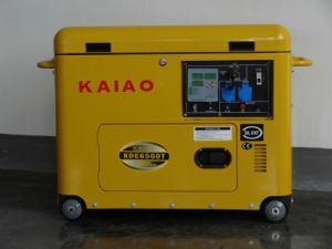 2014 New Design Air Cooled 5kw Silent Diesel Generator HOT SALE pictures & photos