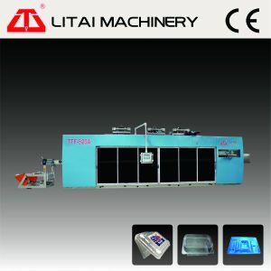 Food Container Thermoforming Machine with Forming Punching Cutting Stacking pictures & photos