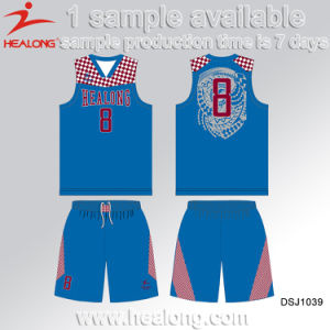Healong Digital Print European Basketball Uniforms Design pictures & photos