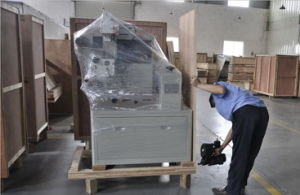 Full Stainless Sami-Automatic Pillow Wrapping Snacks Packaging Machine pictures & photos