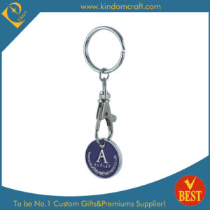 Custom Iron Stamped Metal Shopping Trolley Coin pictures & photos