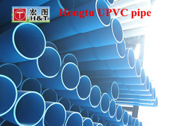 110mm*4.2mm UPVC for Water Supply Blue PVC Pipe