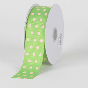 DOT Print Grosgrain Ribbon PRO-5 pictures & photos