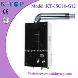 Digital Constant Gas Boiler Black Glass with CE pictures & photos