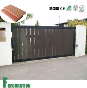 Wood Plastic Composite Wall Panel for Outdoor Gate