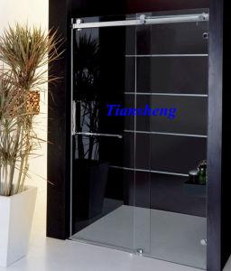 Tempered Glass Frameless Sliding Shower Door pictures & photos