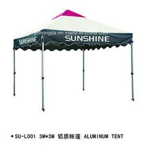 Printed Logo Advertising Square Aluminum Frame Tent (YSBEA0031) pictures & photos