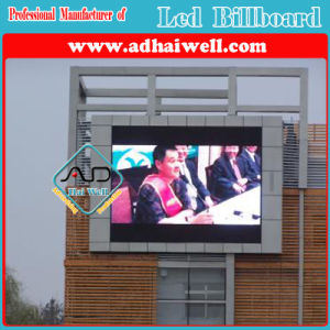 Wall Mounted P10 Full Color LED Screen Display Outdoor Advertising pictures & photos