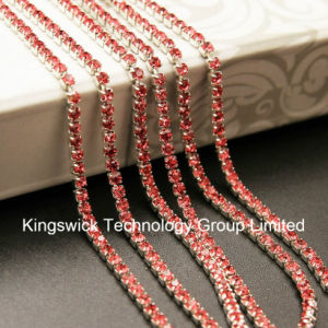 Ss10 New Round Cup Chain Crystal Rhinestone Chain pictures & photos