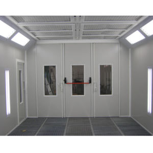 Popular Auto Water-Based Paint Spray Booth pictures & photos