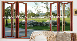 High Quality Luxury Aluminum Big Folding Door for Villa, Office pictures & photos