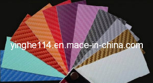 3D Carbon Fiber Vinyl, Car Color Change Film pictures & photos