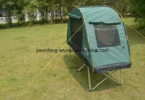 Outdoor Double Layer Camping Bed Tent pictures & photos