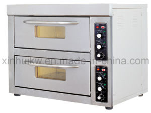 2-Deck 2-Tray Stainless Steel Infrared Baking Oven with CE pictures & photos