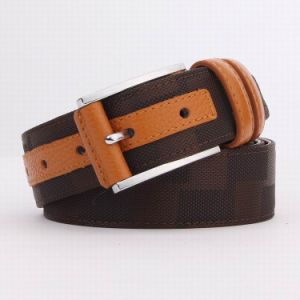 Leather and Canvas Men Belt (SR-13041A) pictures & photos
