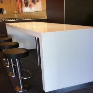 corian dining table - Corian Kitchen Table