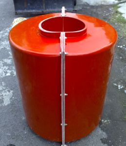 FRP Composite Materials Made Tanks for Anti-Collision Facilities pictures & photos