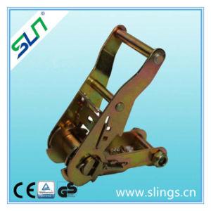 10t*100mm 8m Ratchet Straps Double J Hook Sln Ce GS pictures & photos