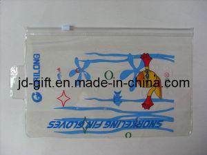 PVC Pouch, PVC Case for Swim Cap, PVC Zipper Bag with Hanging Hole pictures & photos
