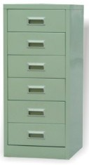 6 Drawers Office Furniture Steel Filing Cabinet (SFC104) pictures & photos