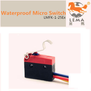 5A 250V IP65 Waterproof Micro Switch Lmfk-1-25ex pictures & photos