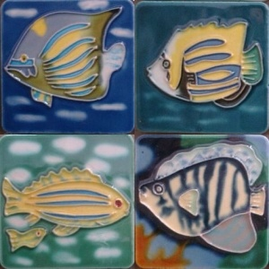Hand Painted Ceramic Magnet (MN14) pictures & photos