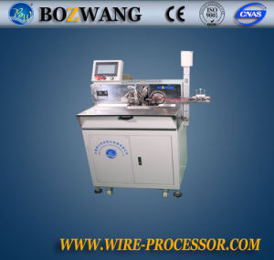 Bozhiwang Full Automatic Wire Double End Cutting, Twisting and Tinning Machine pictures & photos