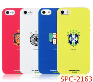 New Design Fashion Jewelry Brazil World Cup Silicone Phone Case for iPhone 5 5s Promotional Products