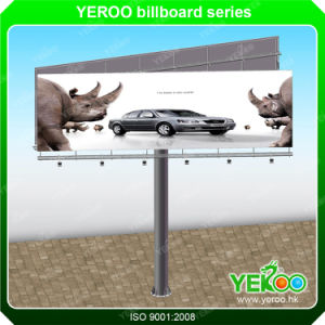 Double Sided Steel Advertising Backlit Billboard pictures & photos