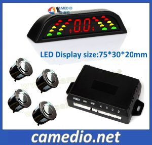 Hot! Universal Auto Reverse Parking Sensor with Three Color LED Display &Alarm by Bibi Sound pictures & photos