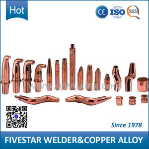 Welding Electric Copper Alloy Cap for 3 Phase Resistance Spot Welder