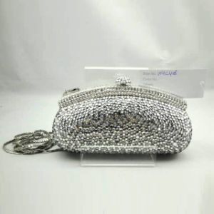 Crystal Evening Bag (WHC408-2SILVER)