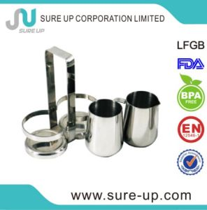 Wholesale Stainless Steel Milk and Sugar Bowl/Milk and Sugar Set pictures & photos