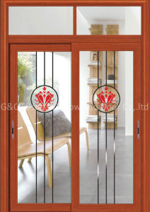 Sliding Aluminum Glass Door (6712) pictures & photos