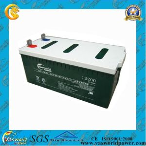 CE Approved Sealed Lead Acid Battery for Solar Panel pictures & photos