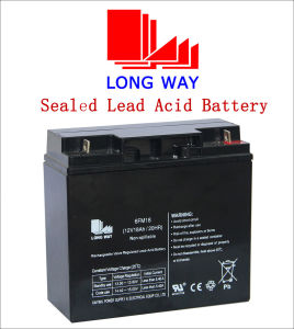 12V18ah Valve Regulated Toys UPS Lead-Acid Battery pictures & photos