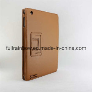Leather Case for iPad2 (FRIP2-02BR)
