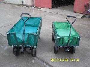 Garden Cart (four wheels with sailcloth)