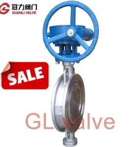API Wafer Type Stainless Steel Butterfly Valve pictures & photos