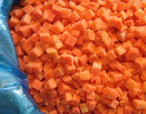 IQF Carrot Dice Brc HACCP FDA Kosher