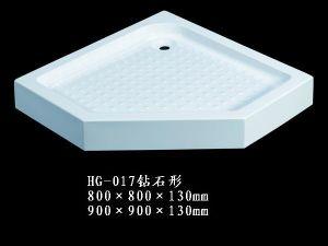 Shower Tray/Shower Plate/Shower Base/Shower Bottom/Acrylic Shower Tray/Shower Enclosure (HG017)