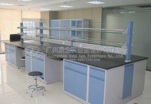 Full Steel Island Bench--Chemistry Laboratory
