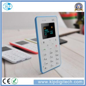 Card Mobile Phone 5.5mm Ultra Thin Pocket Mini Phone Quad Band Low Price pictures & photos