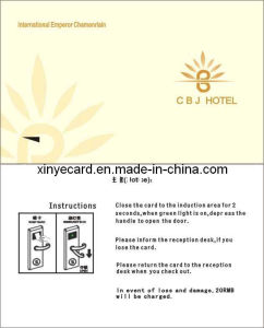 125KHz Hotel Door Locks Card (EM4205)