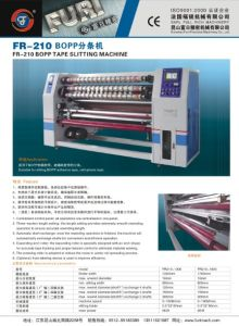 BOPP Adhesive Tape Cutting Machine/BOPP Tape Jumbo Roll Slitting Machine pictures & photos